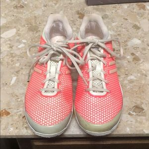 Stella McCartney Adidas Barricade tennis shoes